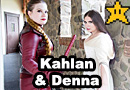 Kahlan & Denna from the Sword of Truth Cosplay