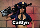 Officer Caitlyn from League of Legends Cosplay