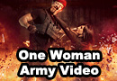 ONE WOMAN ARMY - Epic Drone Action Film
