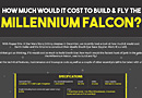 How Much Would It Cost To Build & Fly The Millennium Falcon