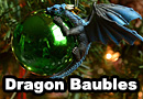 Dragon Baubles For Your Christmas Tree