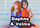 Daphne & Velma from Scooby-Doo Cosplay