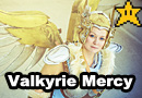 Valkyrie Mercy from Overwatch Cosplay