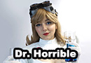50s Femme Dr. Horrible Pinup Cosplay