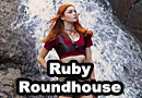 Ruby Roundhouse from Jumanji Cosplay