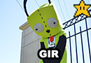 GIR from Invader Zim Cosplay