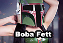 Latex Boba Fett Inspired Lingerie