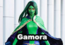 Black Vortex Gamora Cosplay