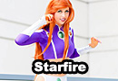 Starfire from Teen Titans Cosplay