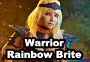 Warrior Rainbow Brite Cosplay