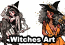 Gorgeous Witches Art