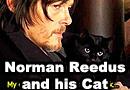Norman Reedus and His Cat
