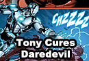 Tony Cures Daredevils Blindness