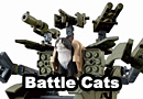Bandai Weaponized Cat Action Figures