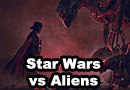 Star Wars vs Aliens Fan Art