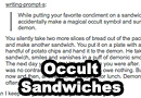 Occult Sandwiches