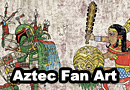 Aztec Warrior Pop Culture Fan Art