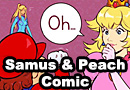 Samus & Princess Peach Comic