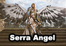 Serra Angel from�Magic: The Gathering Cosplay