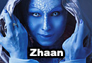 Zhaan from Farscape Cosplay