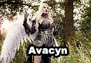 Avacyn from Magic: The Gathering Cosplay