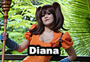 Diane from The Seven Deadly Sins Cosplay