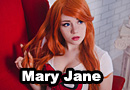 Mary Jane from Spider-Man Cosplay