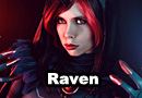 Raven from DC Comics Rebirth Cosplay