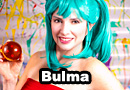 Young Bulma from Dragon Ball Cosplay