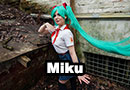 Miku from Everlasting Summer Cosplay