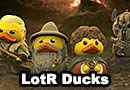 The Lord of the Rings Rubber Ducks