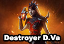 Destroyer D.Va from Heroes of the Storm Cosplay