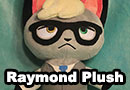 Raymond from Animal Crossing: New Horizons Plushie