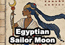 Egyptian Sailor Moon Fan Art
