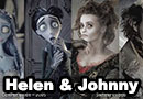 Johnny Depp and Helena Bonham Carter Roles