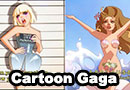 Lady Gaga Cartoon Fan Art