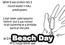 Beach Day Gone Wrong Comic