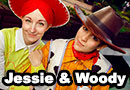 Jessie & Woody from Toy Story 2 Cosplay