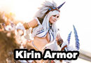 Kirin Armor Set from Monster Hunter Cosplay