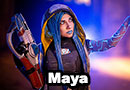 Maya from Borderlands 3 Cosplay