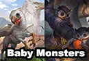 Baby D&D Monsters Fan Art