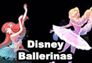 Disney Princesses as Ballerinas Fan Art