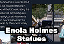 Enola Holmes Inspired Statues