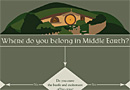 Where do you belong in Middle Earth?