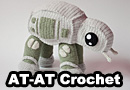 Adorable Crochet AT-AT Walker