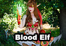 Blood Elf Demon Hunter from World of Warcraft Cosplay