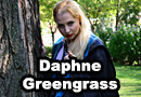 Daphne Greengrass from Harry Potter Cosplay