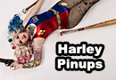 Pinup Harley Quinn Cosplay