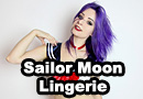 Sailor Moon Lingerie Photoshoot