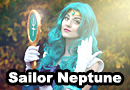 Sailor Neptune from Sailor Moon Cosplay